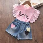 Kids Clothing Sets Top and Pants 2Pcs Fashion Kids Outfits