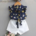 Girls Clothing Sets Style Printing Design Kids