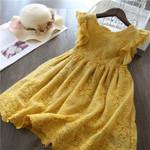 Lace Children Clothing Princess Kids Dresses