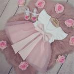 0-5Y Summer Princess Infant Baby Girls Dress Ruffles Sleeve