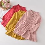 Children Knitting Dress College Style Baby Girl