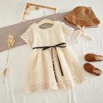 Fashion Girls Princess Dress Elegant Baby Girl Lace Dress Kids