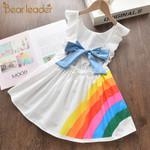 Baby Girl Dress Clothes Toddler Kids Girls Princess Clothes Rainbow