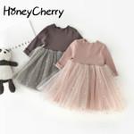 Girls' New Children's Princess Dress Long Sleeved