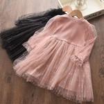 Girls' Long Sleeve Dress Children's Princess Skirt Girls