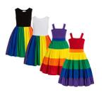 Rainbow Birthday Party Dress Jojo Siwa Tutu Dress