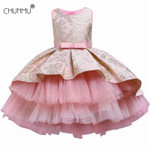 Flower Vintage Embroidery Baby Girls Dress