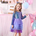 Girl Princess Dress Party Tutu Vestidos Kids Dresses