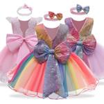 Kids Dresses For Girls Easter Carnival Costume Flower Girls