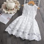 Kids Clothes Summer Children Clothing Leaf Embroidery