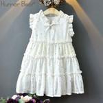 Toddler Dress Sleeveless Dress Hot Gold Little Star