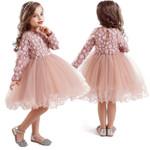 Little Girls Flower Lace Princess Dress Dresses Children
