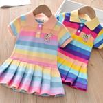 Turn-Down Collar Kids Clothes Fashion toddler Baby Girls