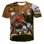 T-shirt Street Wear XXS-6XL  motorcycle 3D Summer T-shirt Men's