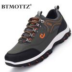 Men Treking Shoes Round Toe Climbing Hiking Shoes Outdoor Sneakers