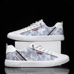 Men's Waterproof Canvas Light Casual Comfortable Sneakers