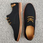 Suede Leather Men Shoes Oxford Casual Shoes Classic Sneakers