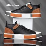 Genuine Leather Shoes for Men Authentic Leather Men Sneaker