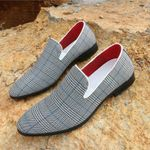 Casual Shoes Slip on Male Design Loafers Flats Shoes