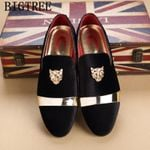 Formal Shoes Men Office Italian Loafers Classic