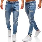 Men's Stretch Straight Fit Jeans Men's Denim Pants