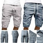 Mens Military Cargo Shorts Mens Shorts Loose Work Casual