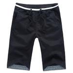 Casual Shorts Men Straight Shorts Male Fashion Cotton