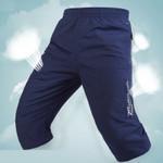 Long Shorts Men Board Quick Dry Zipper Pockets
