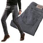 Classic Men's Stretch Jeans Fashion Casual Slim Fit
