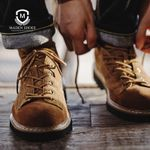 Genuine Leather Men Shoes Spring Winter Casual Ankle Boots