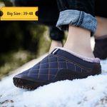 Cotton Slippers Winter Outdoor Men Shoes WaterProof