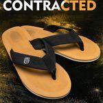 Men Flip Flops Beach Sandals Anti-Slip Casual