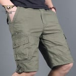 Men's Military Cargo Shorts Army Camouflage Tactical Joggers