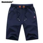 Solid Men's Shorts Mens Beach Shorts Cotton Casual