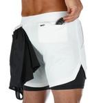Men's Summer Running Shorts Sports Jogging Fitness Shorts