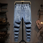 Men's Fashion Jeans Plus Size Loose Casual Taper Street Harem Style