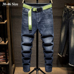 Men's Stretch Jeans Classic Style Fashion Harem Pants