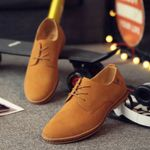 Fashion Men Suede Leather Casual Shoes