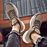 mesh casual shoes New men's sports shoes