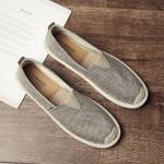 Breathable Linen Casual Men's Shoes  Canvas Summer