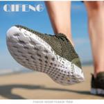 Men Aqua Shoes Breathable Trekking Wading Beach Quick Drying