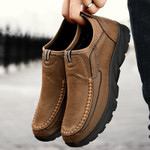 Men Casual Shoes Loafers Sneakers Handmade Retro Leisure Loafers
