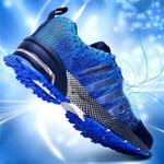 Fashion Men's Shoes Portable Breathable Running Shoes