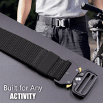 Military Style Tactical Nylon Belt