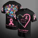 Breast cancer prevention im a survivor faith hope love 3d t shirt hoodie sweater