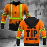 Arborist just the tip i promise 3d t shirt hoodie sweater