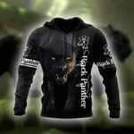 Black panther all printed 3d t shirt hoodie sweater