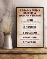 5 deadly terms used by a woman veteran fine nothing go ahead whatever that's ok poster