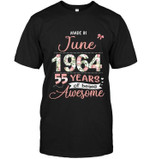 Made In June 1964 55 Years Of Being Awesome