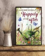 Gardening Lived Happily Ever After Garden Decor Nature Lover Posterma
